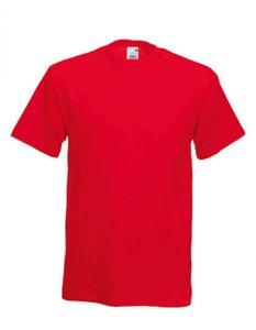 Original Herren T-Shirt - Farbe: Red - Größe: L