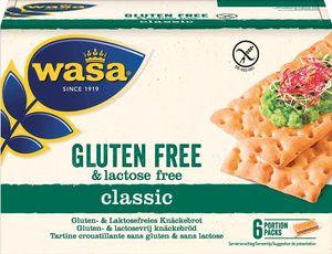 Wasa Knäckebrot Glutenfrei und Lactosefrei Classic gross gebacken 240g
