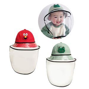 2Pack Baby Double Protection Hat Mit Staubdichtem Anti-Spitting-Gesichtsschutz