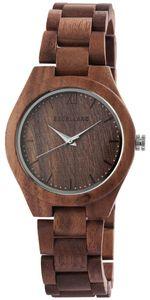Excellanc Uhr Holz Armbanduhr braun 1800157-003