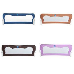 Clamaro Bettschutzgitter, Baby, Kleinkinder, Kinderbett, Rausfallschutz, versch. Farben , Farbe:Blau