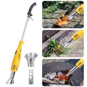 Unkrautvernichter NASUM Abflammgerät Unkrautbrenner ohne Flamme&Gas, elektrisch umweltfreundlich, Rasenmäher Temperatur wahlweise 60℃