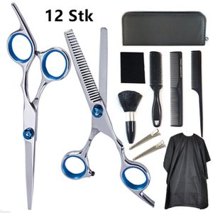 Haarschere Set, 2 Extra scharfe Friseurschere mit Etui,scharfer und präziser Schnitt | Perfekter Haarschnitt für Damen und Herren