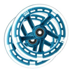 Apollo Wheel Set Skyracer - Blau, Ersatzräderset inkl. ABEC 7 Kugellager