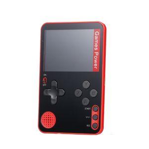 Spielekonsole Retro Mini Game Player mit 500 klassischen Spielen Portable Pocket Game Machine USB-Aufladung fuer Kinder und Erwachsene