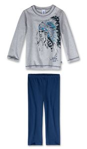 SANETTA Jungen-Schlafanzug lang Sioux Gr. 92 - 140 98