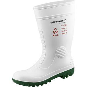 Dunlop Stiefel Acifort safety HV weiß Gr. 42