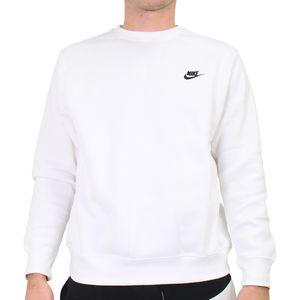 Nike Sportswear Club Sweatshirt Herren Weiß (BV2662 100) Größe: M