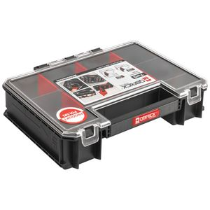 Qbrick Organizer Multi System Two Werkzeugbox 10 Fächer Werkzeugkoffer 260x180x65 mm