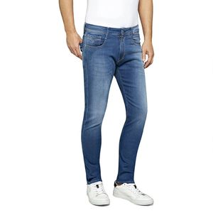 Replay Herren Anbass Slim Jeans, Blau 34W x 30L
