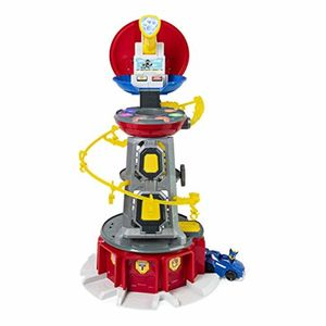 Spin Master 27028 PAW PATROL XXL Hauptquartier Mighty Pups Lifesize Lookout Tower
