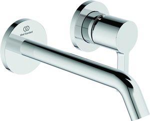 Ideal Standard IS Wand-Waschtischarmatur JOY, BS2, runde Rosette, Ausld.180mm, Chrom