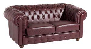 Max Winzer Bridgeport Sofa 2-Sitzer - Farbe: rot - Maße: 172 cm x 98 cm x 76 cm; 2883-2100-9342023-F07
