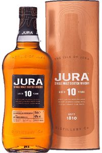Jura 10 Jahre Single Malt Scotch Whisky in Geschenkpackung | 40 % vol | 0,7 l