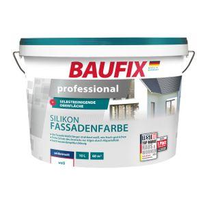 BAUFIX professional Silikon-Fassadenfarbe weiß
