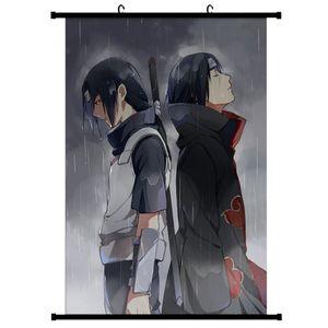 Japanische Anime Naruto Kunstdruck Malerei Scroll Poster für Home Wall Decor -Multicolor M