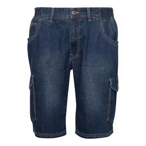 Replika Denim Shorts in Übergrößen mit Elasthan, Größe:6XL