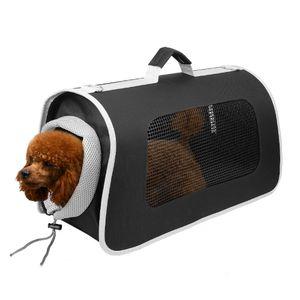 wuuhoo I Tiertranssporttasche, Tiertransportbox Carrie I Transporttasche für Hunde und Katzen mit Schultergurt faltbar