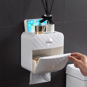 Pathonor DE Luxury Toilettenpapierhalter Papierhalter Klopapierhalter Feuchttücher Box