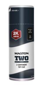 Decklack 2K Epoxy 400ml Anthrazitgrau  RAL 7016 Spraydose Farbspray Lackspray Maston Lack Grau