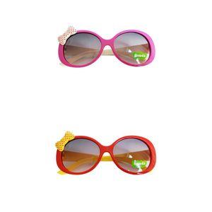 2Pcs Stilvolle Kind Kinder Mädchen Kinder Schutzbrillen Anti-UV400 Sonnenbrille