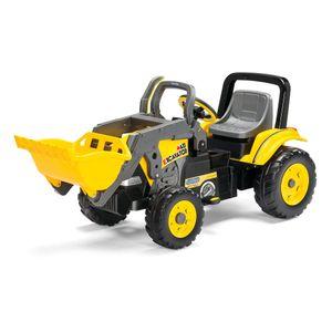 PEG Perego Tret-Traktor Maxi Excavator Farbe: gelb-schwarz-grau