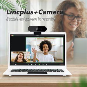 LincPlus P3 Laptop 14 Zoll Intel 4 GB RAM 64 GB mit 1080P Dual Mikrofon Webcam