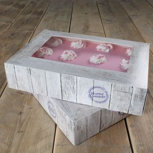 FunCakes Tortenschachtel - Pure- 36x25x8cm 2er Set