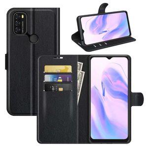 Für Blackview A70 Handy Tasche Wallet Premium Schwarz Schutz Hülle Case Cover Etuis Neu Zubehör