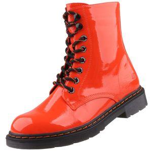 Dockers by Gerli Damen 45TS201 Stiefel Dessert Boots Combat Boot, Farbe:Orange (Orange), Größe:EUR 38