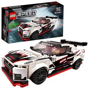 LEGO 76896 Speed Champions Nissan GT-R NISMO, Bausatz für ein Modellauto, Spielzeug für Kinder ab 7 Jahre, Rennauto, Spielzeugauto