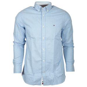 Hilfiger Men Hemd, Farbe:C39 BLUE, Größe:XXL