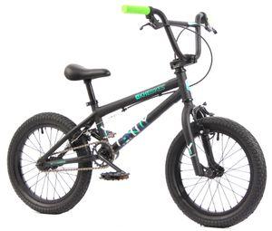 KHE Lenny SE BMX Rad 16 Zoll schwarz nur 9,4kg!
