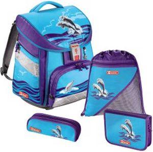 Step by Step Comfort Schulranzen 4 teilig Happy Dolphins
