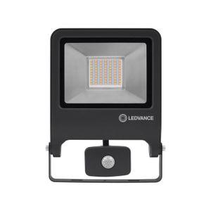 LEDVANCE ENDURA FLOOD SENSOR 50 W LED Wandstrahler Warmweiß 26,7 cm Aluminium Dunkelgrau