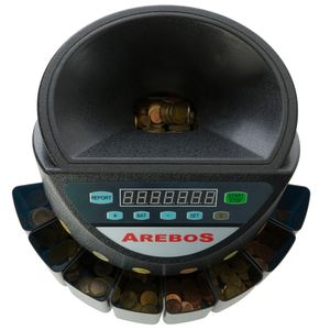 Arebos Automatischer Münzzähler - direkt vom Hersteller