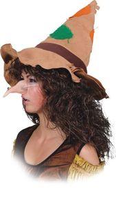 Hexennase Zubehör Nase zum Hexe Kostüm Karneval Fasching Halloween