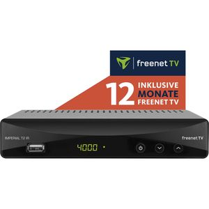 T2 IR DVB-T2 HD und DVB-C Receiver inkl. 12 Monate freenet TV¹