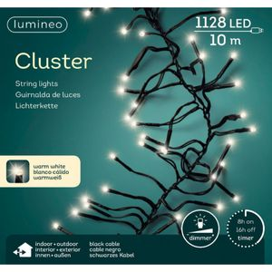 LED Cluster Timer/Dimmer warm weiss, 1120