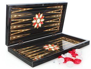 Luxus Orient Backgammon Tavla XXL Gesellschaftsspiele Familienspiel