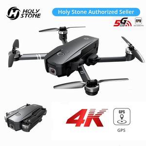 Holy Stone HS720 GPS Drohne mit 4K Kamera Full-HD RC Faltbar Quadcopter mit bürstenloser Motor, 26 Min.5G WLAN FPV inkl. Koffer für Anfänger