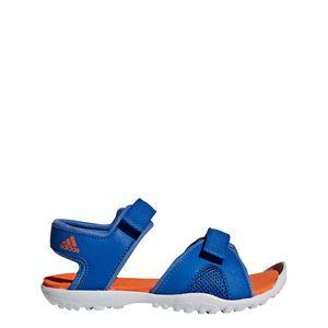 adidas Kinder Wassersandale SANDPLAY OD K Badesandale Wasserschuhe CM7646 Blau, Größe:EUR 38 - UK 6, Farbe:Blautöne