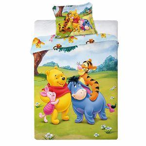 Kleinkind Bettwäsche | Winnie Puuh Pooh | Baumwolle | 100 x 135 cm