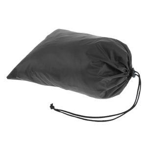 1 Stück Packsack , Farbe schwarz