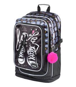 Schulrucksack Für Mädchen – Ergonomischer Kinderrucksack mit Laptopfach Für Schule – Extrem Leicht Rucksack mit Brustgurt und Reflektierenden Elementen by Baagl (Turnschuhe)