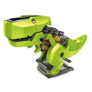 Dinosaurier Solar Roboter Bausatz Set, 3 in 1 STEM Spielzeug Bausteine Bausätze Konstruktions Lernspielzeug Wissenschaftliches Kit als DIY Geschenk für Kinder ab 8 Jahren