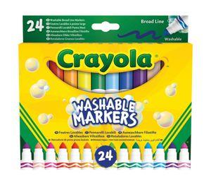 Crayola 58-6570, Mehrfarbig, Mehrfarbig, 24 Farben, 3 Jahr(e), Junge/Mädchen, Malaysia