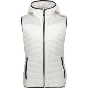 Cmp Woman Vest Fix Hood A143 B.co Gesso 38