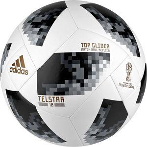 adidas TELSTAR 18 WORLD CUP TOP GLIDER r.5 Herren Fußball Ball Weiß, Größe:5
