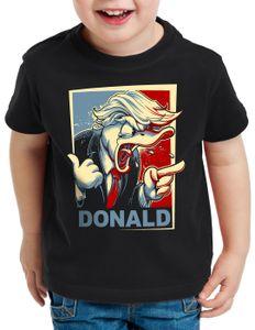 style3 Der Donald T-Shirt für Kinder vereinigte staaten von amerika usa, Größe:164